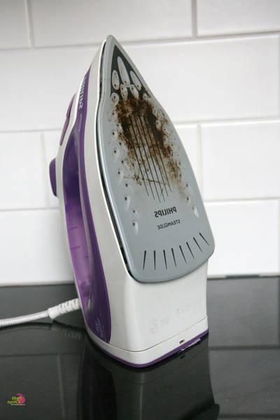 comment nettoyer une semelle de fer à repasser